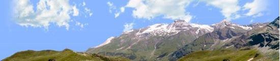 Picture of Austrian alps vista 1 left