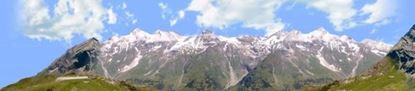 Picture of Austrian alps vista 3 left