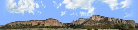 Picture of Cliffs of el malpais new mexico left