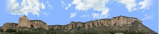 Picture of Cliffs of el malpais new mexico right