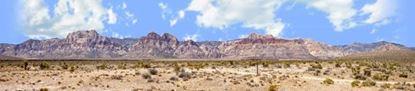 Picture of Desert mountains nevada with desert floor left