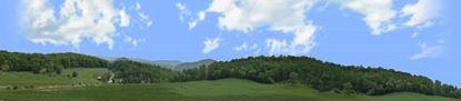 Picture of Farm in viginia blue ridge mountains right