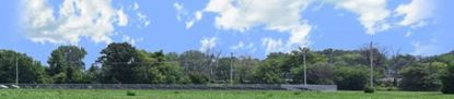 Picture of Lime mine across field ohio right