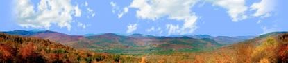 Picture of Autumn in crawford notch state park nh left center repeatable