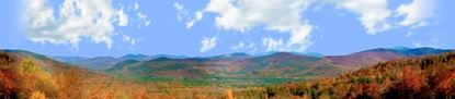 Picture of Autumn in crawford notch state park nh right center repeatable