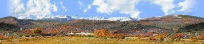 Picture of Autumn meadow near mount sneffles colorado left repeatable