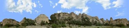 Picture of Cliffs of el malpais new mexico repeatable
