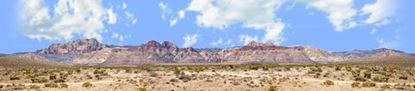 Picture of Desert mountains nevada with desert floor left repeatable
