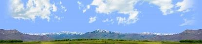 Picture of Wasatch mountains utah left repeatable