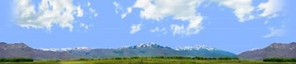 Picture of Wasatch mountains utah right repeatable